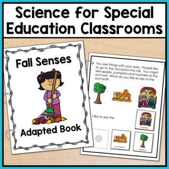 Seasons Adapted Books for Special Education and Autism: 5 Senses BUNDLE