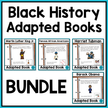 Black History Month Adapted Books with Comprehension Quest