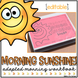 Morning Adapted Work Binder® (for Special Needs) | Adapted