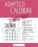 Adapted Calendar Visual Support