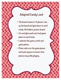 Adapted Candy Land Game