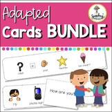 Adapted Cards Bundle : Conversation, Personal Information,