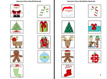 Adapted Christmas Book: PRE-K / AUTISM