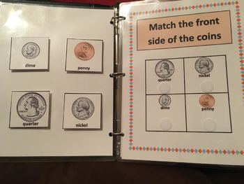 Adapted Coin Work Binder