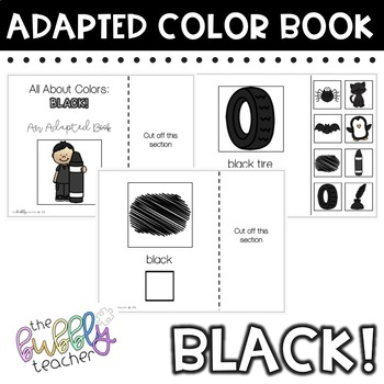 Black: Adapted Colors Book