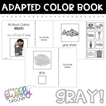 Gray: Adapted Colors Book
