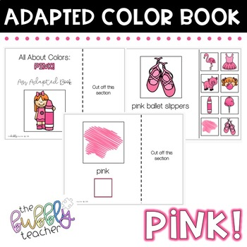 Pink: Adapted Colors Book