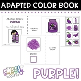 Purple: Adapted Colors Book