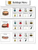 Adapted Community, Restaurant and Store Menus with Visual