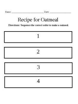 Adapted Cooking Recipes