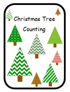 Adapted Counting Book Christmas Trees
