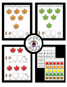 Counting Leaves Adapted Books in 5 Colors