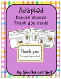 Donors Choose Thank You Cards