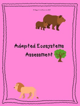 Adapted Ecosystems Assessment