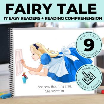 Adapted Fairytales Growing BUNDLE: CORE Words