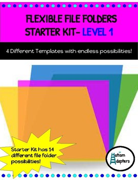Adapted Flexible File Folders- Level 1