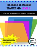 Adapted Flexible File Folders- Level 2