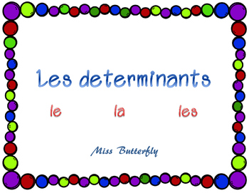 Adapted French Book - le, la, les