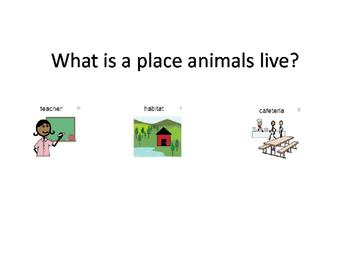 Special Education Adapted Habitat Unit
