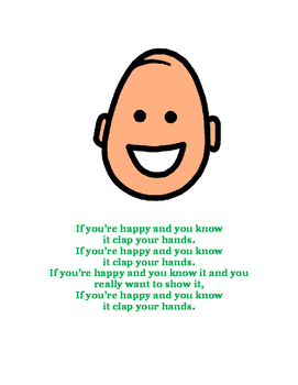 Adapted Happy and You Know It Song