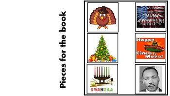 Adapted Holiday Book