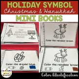 Adapted Holiday Symbols Mini Book for Special Education