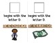 Adapted Interactive Beginning Reader for the letter D - 33 Picture Words