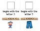 Adapted Interactive Beginning Reader for the letter J - 25 Picture Words