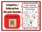 Adapted Interactive Beginning Reader for the letter R - 29