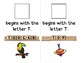 Adapted Interactive Beginning Reader for the letter T - 39 Picture Words