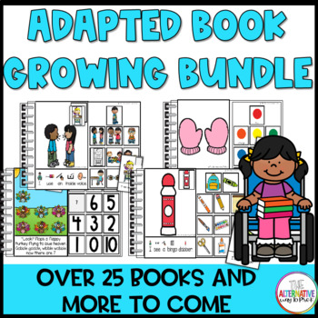 Adapted and Interactive Book Growing Bundle