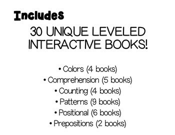 Adapted/Interactive Book Bundle- FEBRUARY
