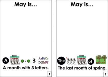 Interactive Books: Spring Months Bundle
