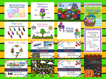 Adapted (Interactive) Books for Early Childhood & Special Education Students