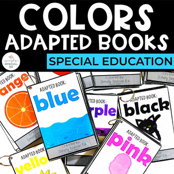 Adapted Book: Color Books Bundle