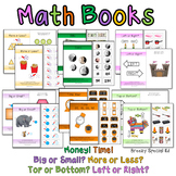 Adapted / Interactive Math Basic Life Skill Books Mega Set for Special Education