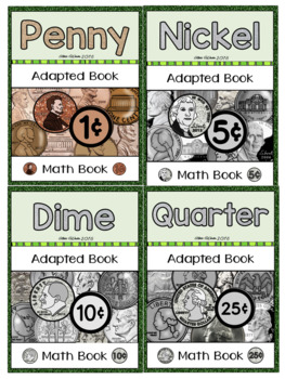 Adapted Interactive Money Book for Autism / SPED