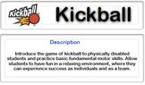 Adapted Kickball
