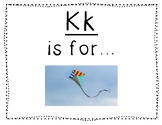 Adapted Letter K Book