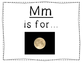 Adapted Letter M Book