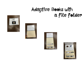 Adapted Letter T Book