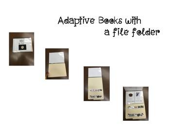 Adapted Letter V Book