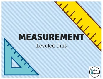 Adapted Leveled Measurement Activities