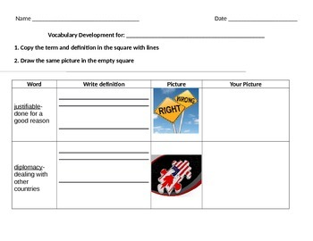 Adapted Life Skills Vocabulary Development
