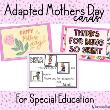 Adapted Mother Day Cards