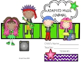 Adapted Music Journal (Editable)