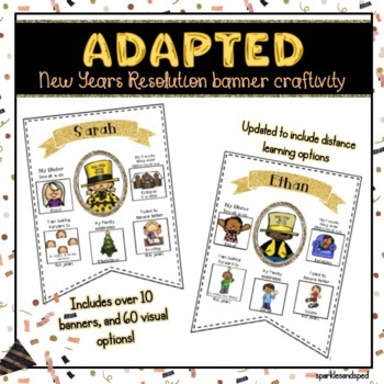 Adapted New Years Resolution Banner Set!!