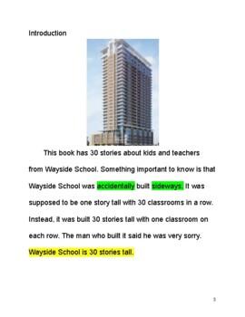 Adapted Novel Sideways Stories from Wayside School