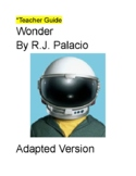 Adapted Novel Wonder Unit Bundle