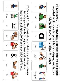 Adapted PE Standards